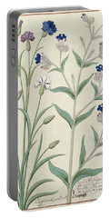 Centaurea Montana And Cornflowers Portable Battery Charger