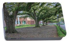Portable Battery Charger featuring the photograph Centennial Oaks by Gregory Daley  PPSA
