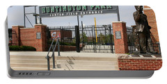 Center Field Entrance At Huntington Park  Portable Battery Charger