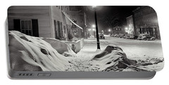 Center Of Town Woodstock  Vermont Medium Format Acetate Negative By Marion Post Wolcott March 1939 Portable Battery Charger