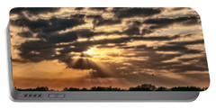 Portable Battery Charger featuring the photograph Central Florida Sunrise by Christopher Holmes