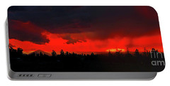 Central Oregon Sunset Portable Battery Charger