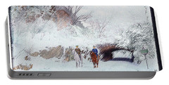 Central Park Snow Portable Battery Charger