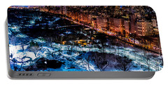Portable Battery Charger featuring the photograph Central Park by M G Whittingham