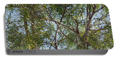 Portable Battery Charger featuring the photograph Central Texas Sky View Through Mesquite Trees by Ray Shrewsberry