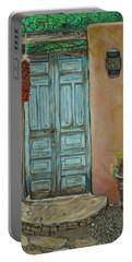 Cerrillios Blue Door Portable Battery Charger