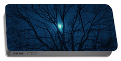 Portable Battery Charger featuring the photograph Cerulean Night by Denise Beverly