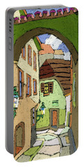 Cesky Krumlov Masna Street Portable Battery Charger