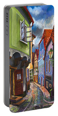 Cesky Krumlov Old Street 1 Portable Battery Charger