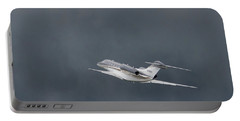 Portable Battery Charger featuring the photograph Cessna 750  by Guy Whiteley