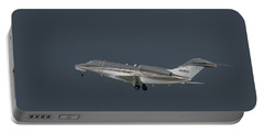 Portable Battery Charger featuring the photograph Cessna 750 N610cg by Guy Whiteley