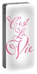 C'est La Vie Portable Battery Charger