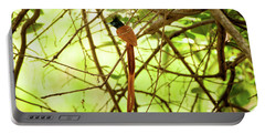 Ceylon Paradise Flycatcher Portable Battery Charger