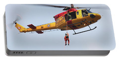 Ch-146 Griffon Of The Canadian Forces Portable Battery Charger by Timm Ziegenthaler