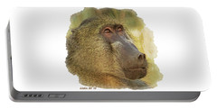 Chacma Baboon 6 Portable Battery Charger