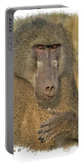 Chacma Baboon Portable Battery Charger