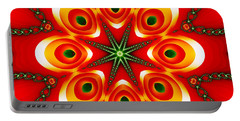 Chained Sunburst Portable Battery Charger