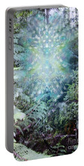 Chalice-tree Spirit In The Forest V3 Portable Battery Charger