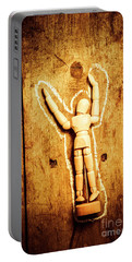 Chalked Out John Doe Portable Battery Charger