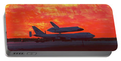 Portable Battery Charger featuring the photograph Challenger 1984 Kelly Afb by M Diane Bonaparte