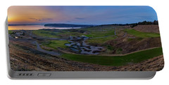 Chambers Bay Sunset Review Portable Battery Charger