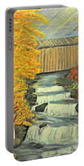 Chambers Covered Bridge  Portable Battery Charger