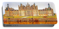 Chambord Castle Portable Battery Charger by Anton Kalinichev