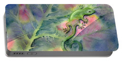 Chameleon Portable Battery Charger by Amy Kirkpatrick