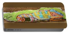 Chameleon Portable Battery Charger by Ann Michelle Swadener
