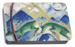 Chamois Portable Battery Charger by Franz Marc