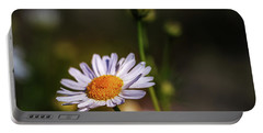 Chamomile Flowers - Delicate Flowers With A Pleasant Aroma One Of The Most Famous Medicinal Plants Portable Battery Charger