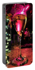 Champagne And Jazz Portable Battery Charger