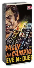 Champions Rally Portable Battery Charger by Gary Grayson