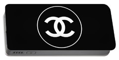 Chanel - Black And White 02 - Lifestyle And Fashion Portable Battery Charger