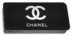Chanel - Black And White 03 - Lifestyle And Fashion Portable Battery Charger