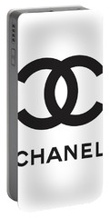 Chanel - Black And White 04 - Lifestyle And Fashion Portable Battery Charger