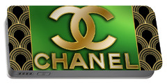 Portable Battery Charger featuring the digital art Chanel - Chuck Staley by Chuck Staley