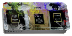 Chanel Coco Noir Portable Battery Charger