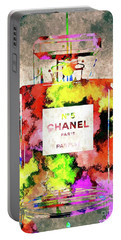 Chanel No 5 Portable Battery Charger by Daniel Janda