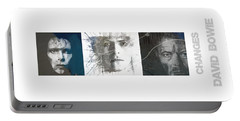 Changes David Bowie Triptych Portable Battery Charger