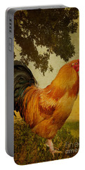 Chanticleer Portable Battery Charger by Lois Bryan