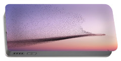 Chaos In Motion - Starling Murmuration Portable Battery Charger
