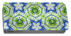 Chaos In Stars Portable Battery Charger by Lori Kingston