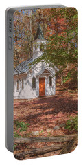 Chapel In Woods At Red Mill 3 Portable Battery Charger
