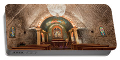 Portable Battery Charger featuring the photograph Chapel  by Juli Scalzi