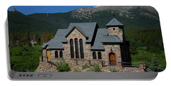 Chapel On The Rock Portable Battery Charger by John Roberts