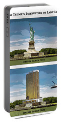 Chapter 11 Lady Liberty Portable Battery Charger by Joe  Palermo