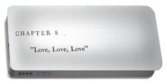 Chapter 8 Love Love Love Portable Battery Charger