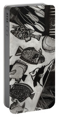 Charcoal Chaos Portable Battery Charger