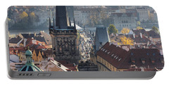 Charles Bridge And Bridge Towers Portable Battery Charger